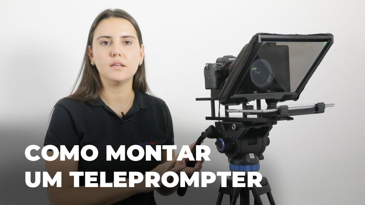 Tutorial - Como montar um teleprompter TP-300