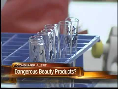 Dangerous chemicals in your cosmetics?