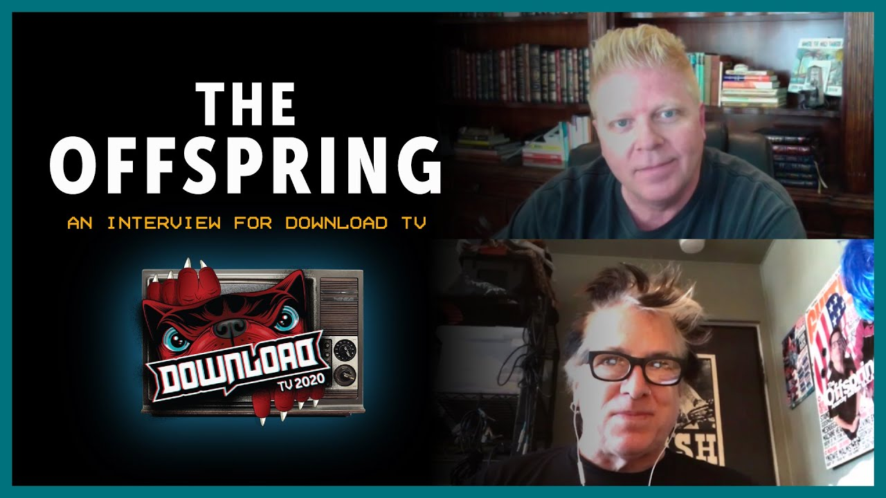 THE OFFSPRING interview for Download Festival TV!