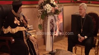 بالفيديو| وفد الكنيسة الإنجيلية يهنئ شيخ الأزهر بعيد الأضحى المبارك