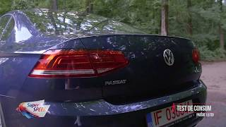 Test de consum: VW Passat 1.6 TDI Advance