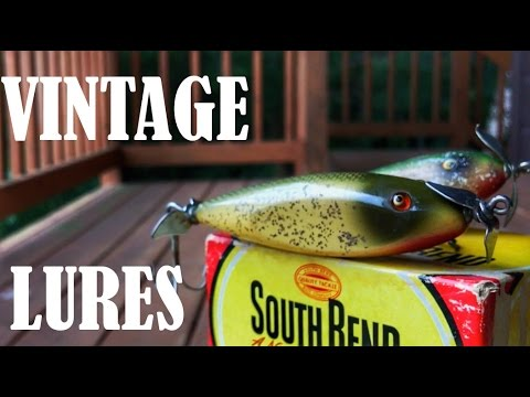 Fishing With OLD SCHOOL Bass Lures