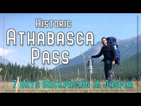 Solo Backpack trip up to Athabasca Pass, Jasper, Alberta (6 nights)