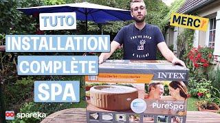 Comment installer et monter son spa gonflable INTEX