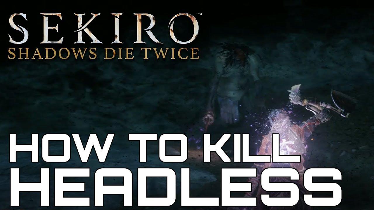 Sekiro Shadows Die Twice HOW TO KILL HEADLESS SECRET BOSS (CONFETTI &  PACIFYING AGENT FARMING)