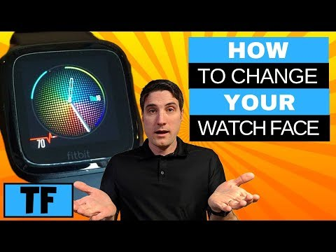 Fitbit Versa - How To Change Watch Face (2020) | How To Customize Clock Faces Tutorial Help