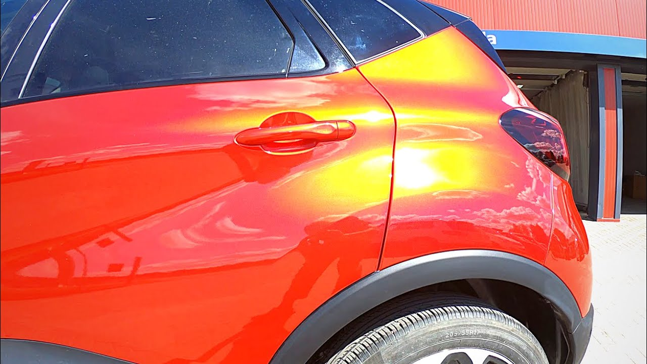 Car painting | Renault Rouge Flamme NNP ( Tinted Clear coat ) Waterborne Cromax Pro