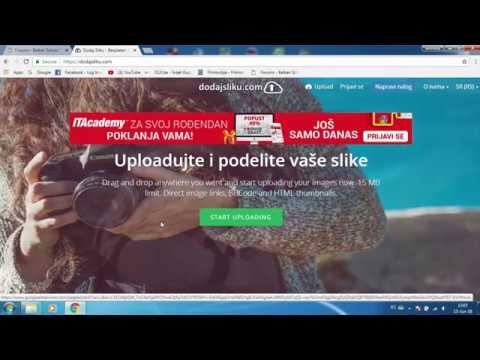 Tutorial: Kako Postaviti Sliku Na Forum Preko Sajta dodajsliku.com Balkan School #2