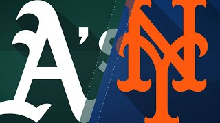 7/21/17: Conforto homers twice in Mets' win over A's