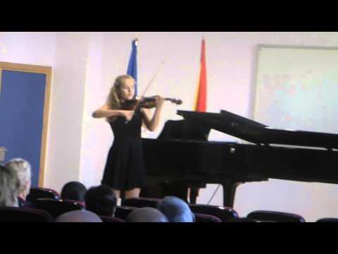 Sara Valencia - Ch. A. de Beriot: Scene de Ballet Op. 100