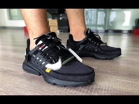 finest selection 9a6ff 9e8df Off White Nike Presto Triple Black 1 1 Reps Unboxing Review