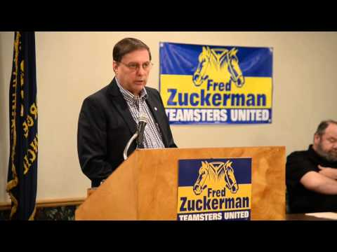 Fred Zuckerman for Teamster General President
