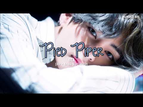 [3D+BASS BOOSTED] BTS (방탄소년단) - PIED PIPER | bumble.bts