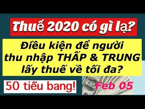 #248] ĐIỀU KIỆN để người THU NHẬP THẤP và TRUNG LẤY THUẾ TỐI ĐA/ Thuế 2020 có gì lạ?