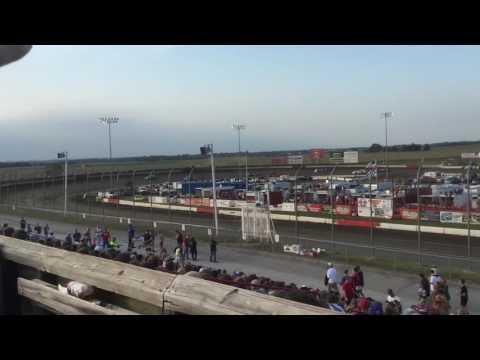 Jake Bridge 9-4-16 Heat (4th) I-80 Speedway