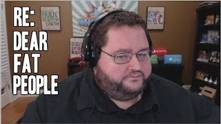 RE: Dear Fat People
