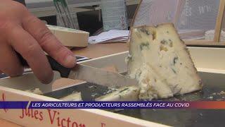 Yvelines | Les agriculteurs et producteurs rassemblés à la Ferme de la Tremblaye, face au covid
