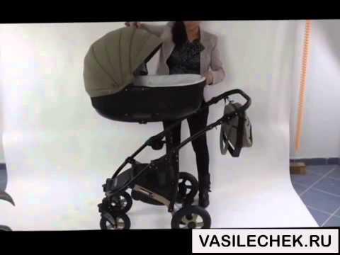 Camarelo Sevilla 3 в 1 и 2 в 1 детская коляска видео обзор на vasilechek.ru камарело...