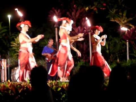 At the Luau, Maui, Kihei, Hawaii