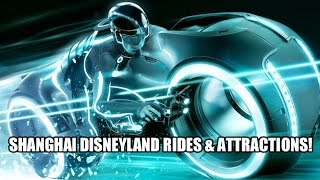 Tron Lightcycle Roller Coaster - Shanghai Disneyland Rides and Attractions Overview