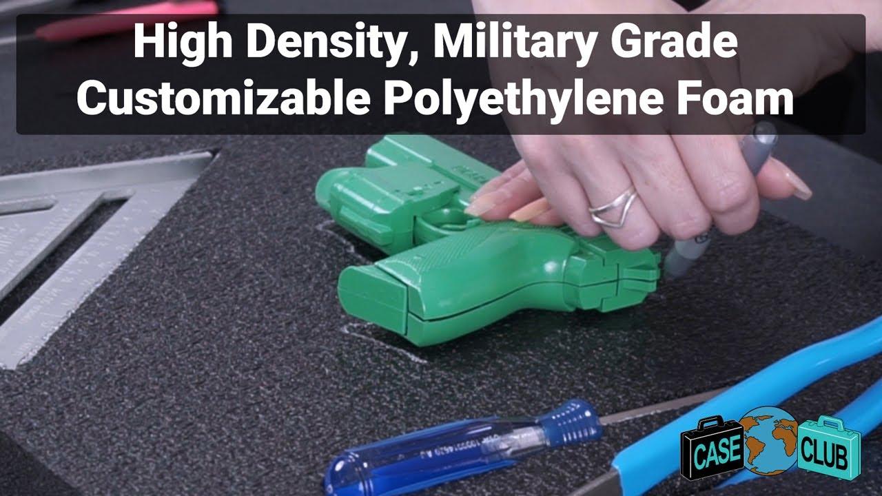 Case Club High Density, Military Grade Customizable Polyethylene Foam  - Overview - Video