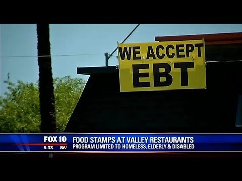 Food stamps for fast food: EBT cards accepted at some valley restaurants
