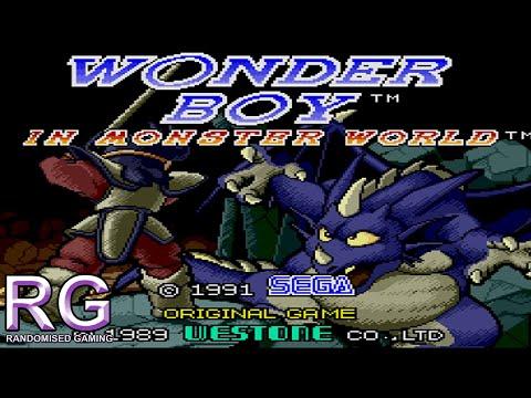 Wonder Boy in Monster World - Mega Drive Gameplay
