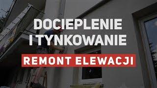 Docieplenie i tynkowanie ściany - remont elewacji #2