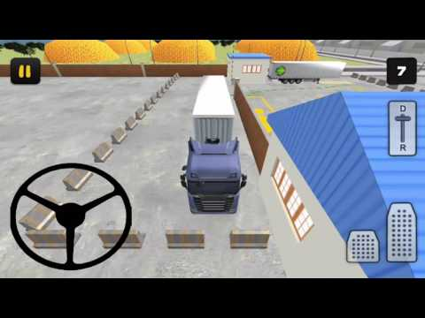 Truck Parking Simulator 3D Factory - New Android Gameplay HD