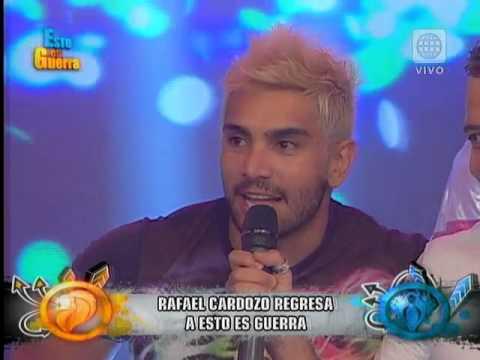 Esto es Guerra - Rafael Cardozo regresa a Esto es Guerra - BIENVENIDA - 02-02-2015