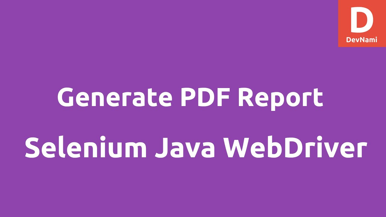 Selenium Tutorial For Beginner Pdf