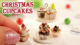 MIniature Food    Christmas Cupcakes    Kids Crafts