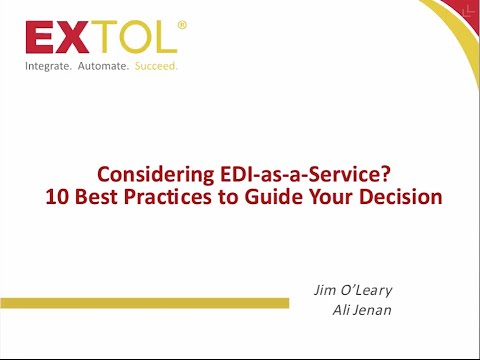 EDI as a Service