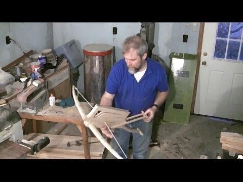 "Chu-ko-nu ""Machine Gun Crossbow"" - How to build it."