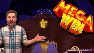 mega win! Willy Wonka Slot Machine Bonus - Chocolate River - HUGE Win!!!