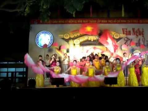 Liên Khúc Đảng.Chung kết văn nghệ thanh lịch.12A9.THPT Nguyễn Diêu