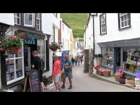 Port Isaac On The North Coast Of Cornwall