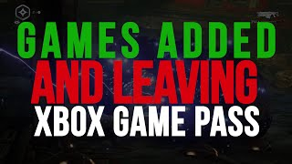 Games Added & Leaving Xbox Game Pass | Jan 2020