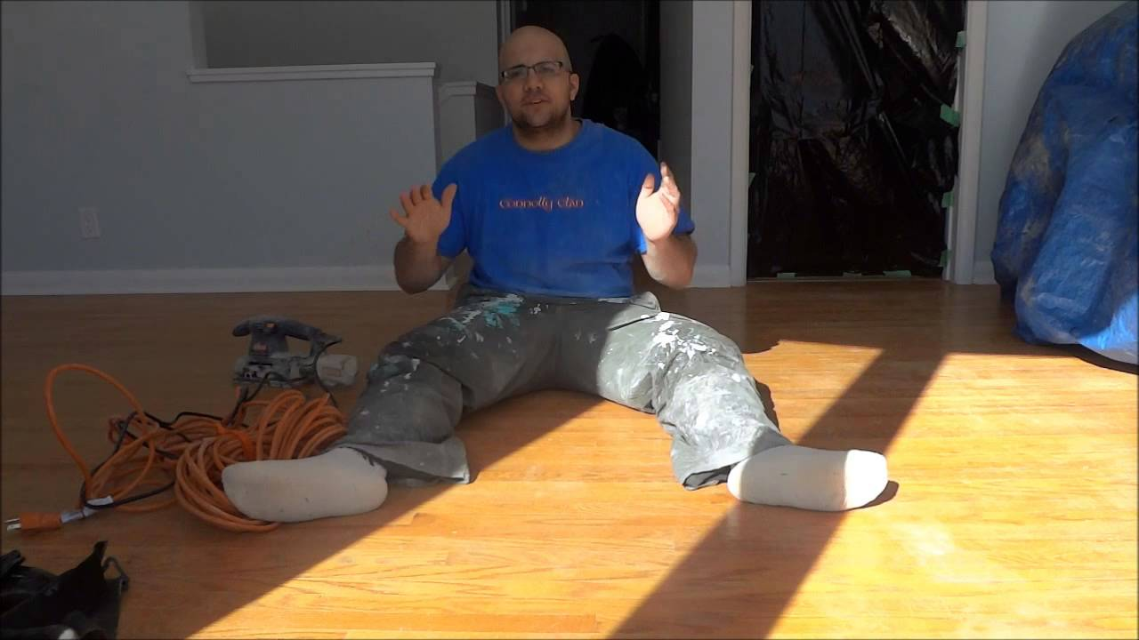 How To Refinish Old Hardwood Floors Sand Stain And