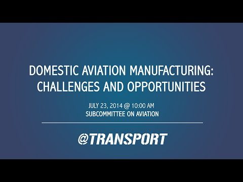 Domestic Aviation Manufacturing: Challenges and Opportunities