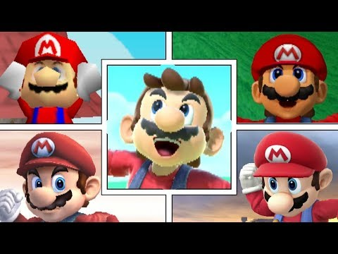 Evolution Of Mario In Super Smash Bros Series (Moveset, Animations & More) thumbnail