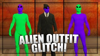 GTA 5 - How To Get Double Color Alien Suit / How To Get CLOTHES OVER ALIEN SUIT(ALIEN OUTFIT GLITCH) YouTube Videos