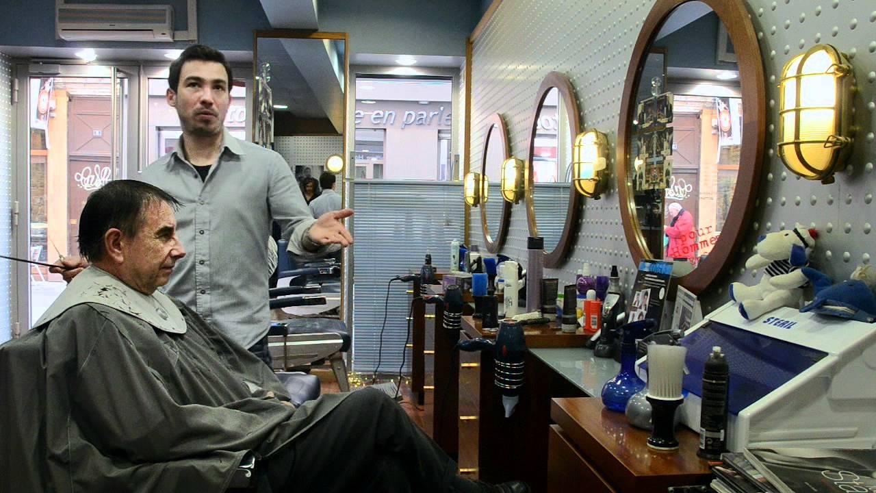 Pr sentation du salon de coiffure l 39 quipage croix ro - Salon de coiffure usa ...