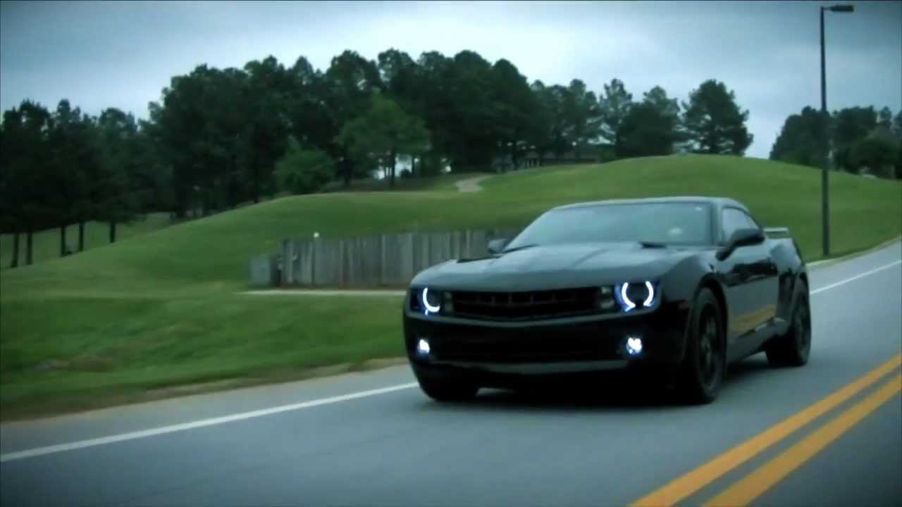 Blacked Out 2012 Camaro Clips Youtube