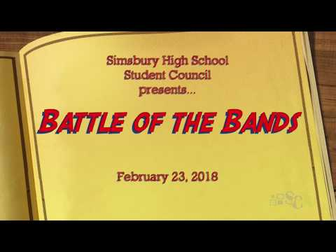 Simsbury High School Battle of the Bands 2018
