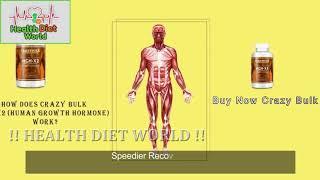 Crazy Bulk HGH X2 Review   Health Diet World