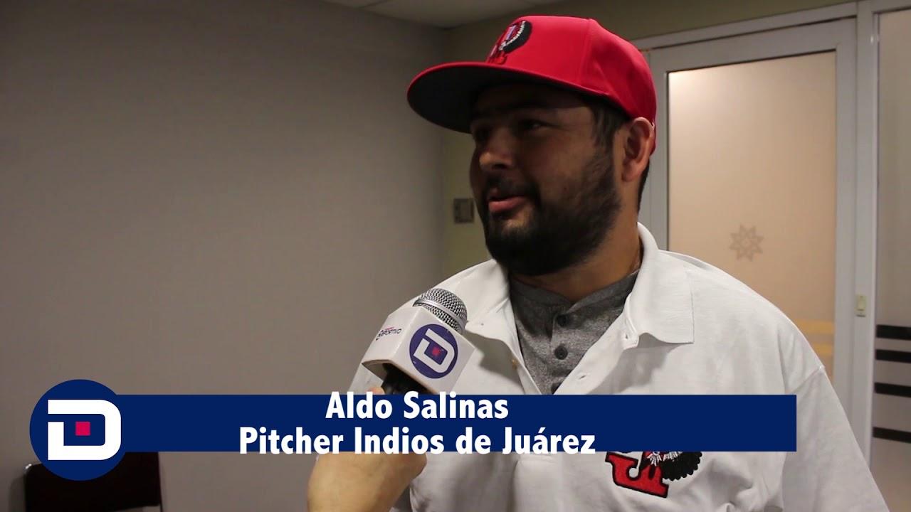 Download Me encantan lo retos: Aldo Salinas Pitcher Indios de Juárez