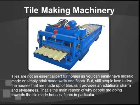 List Of Building Material Machinery