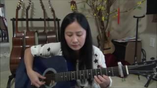 LK Quê Hương Bỏ Lại, Chiều Tây Đô   guitar cover lục bình tím