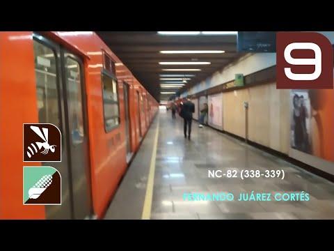 Metro CDMX - Línea 9 - De Chilpancingo a Jamaica - NC-82